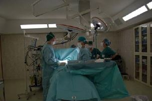 Operationssaal im Krankenhaus